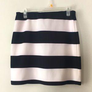 Suzy Shier Stripe Skirt Size Medium